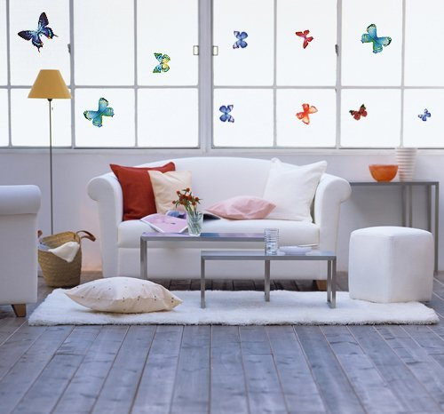 Brighten Up Your Children Room with 26 Vibrant Butterflies Vinyl Peel & Stick Home Wall Sticker Decals