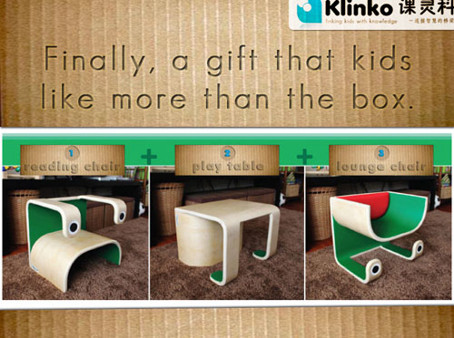 Superb Modern Kids Furniture 3 In 1 Little Frog