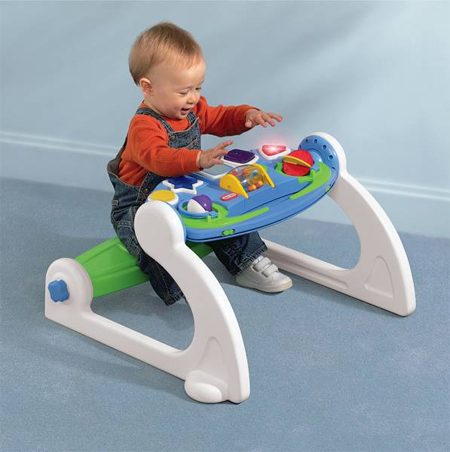 Little Tikes 5-in-1 Adjustable Gym Offers 5 Different Play Centers