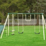 6 Station Backyard Swing Set Would Be An Enjoyable Place For Your Kids