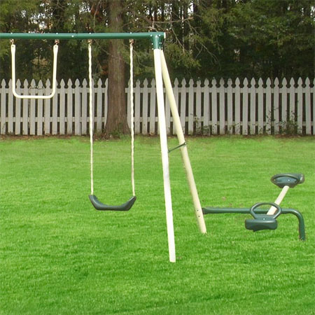 backyard swing set