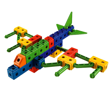 trio airplane building set