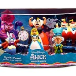 Alice in Wonderland Figurine Playset