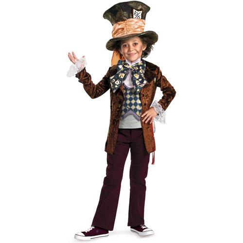 Alice in Wonderland Movie - Mad Hatter Child Costume - Top 20 Halloween Kids Costumes