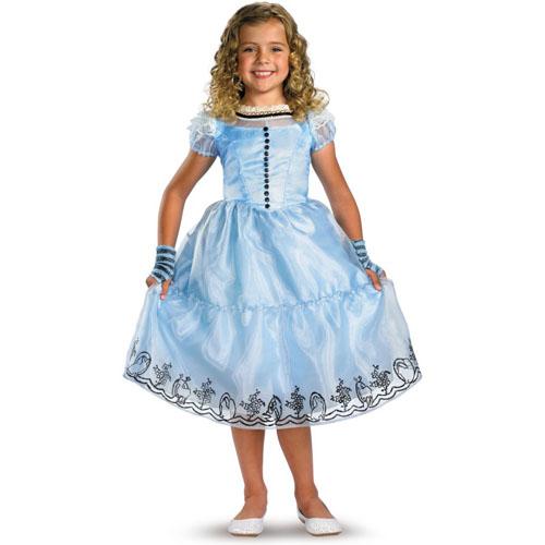 Alice in Wonderland Movie - Alice Child Costume - Top 20 Halloween Kids Costumes