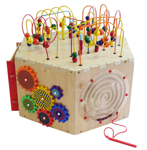 Anatex Six-Sided Play Cube
