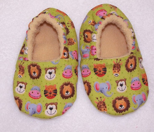 Animal Faces Slippers - Cute Animal Slippers