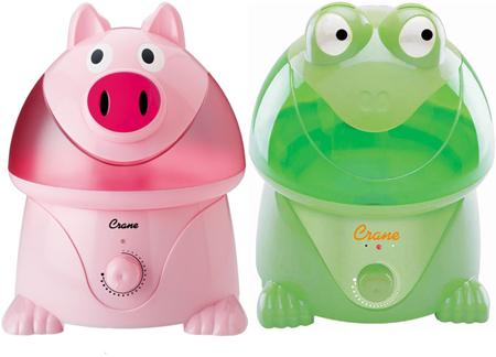 pig frog animal shaped humidifier