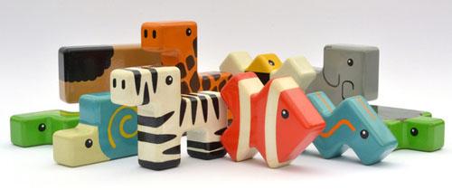 Animal Stackers by Dan Nguyen