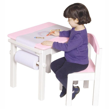 Art table and chair set gives excellent painting - Set table enfant ...