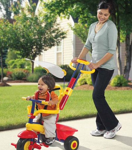 attractive and functional 3 in 1 smart trike