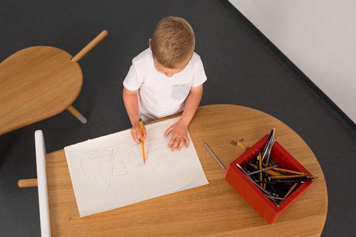 Avlia Furniture System for Children by Natasa Njegovanovic