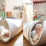 Multifunction Baby Activity Mat Transforms Into Toy Storage When Not Needed