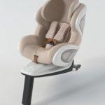 BabyArk Child Car Seat Design from an Automotive Designer