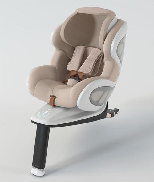 BabyArk - Child Car Seat by Frank Stephenson