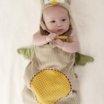 Cute Baby Aspen My Little Night Owl Snuggle Sack and Cap