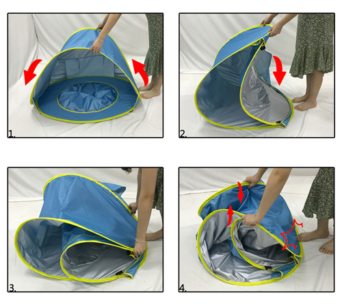 Baby Beach Tent With Removable Little Pool
