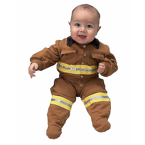 Baby Firefighter Costume - Top 20 Baby and Toddler Halloween Costumes