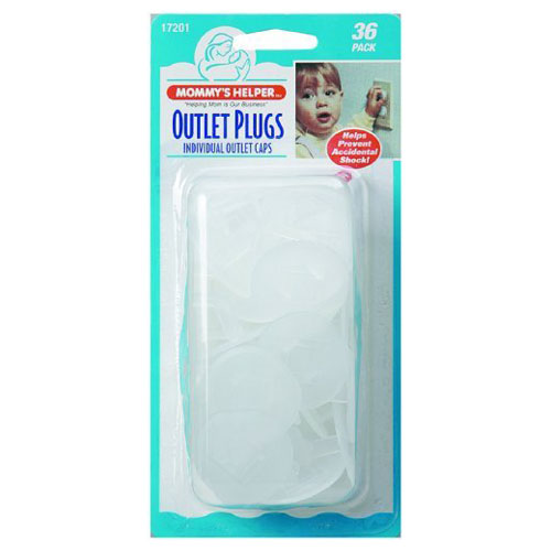 Baby Proof House with Outlet Plugs