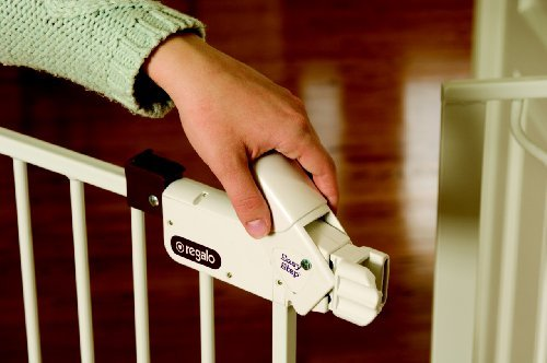 Baby Proof Your House with Regalo Walk Through Gate
