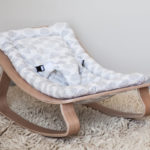 Charlie Crane x Moumout Collaboration Resulted in Modern Baby Rocker LEVO with Moumout Cloud Cushion