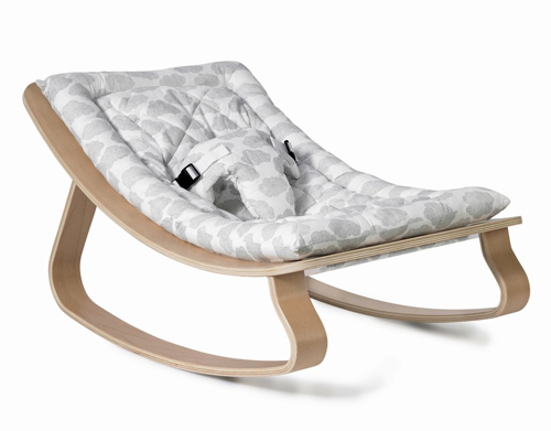 Baby Rocker LEVO with Moumout Cloud Cushion