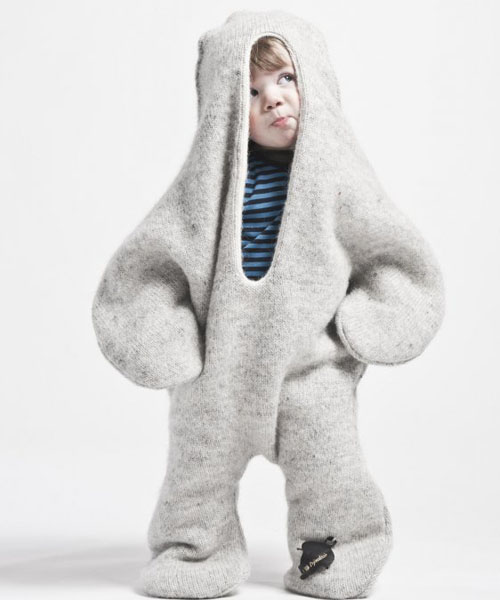 Baby Seal Wool Clothes