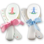 Bring out baby's beauty with this comb and brush set