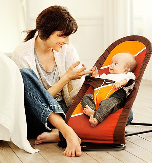 Let Your Baby Bounce on the Baby Bjorn Babysitter Balance Bouncer