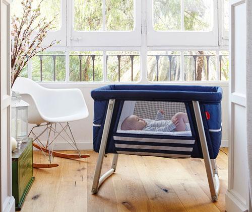BabyHome Organic Air Bassinet System