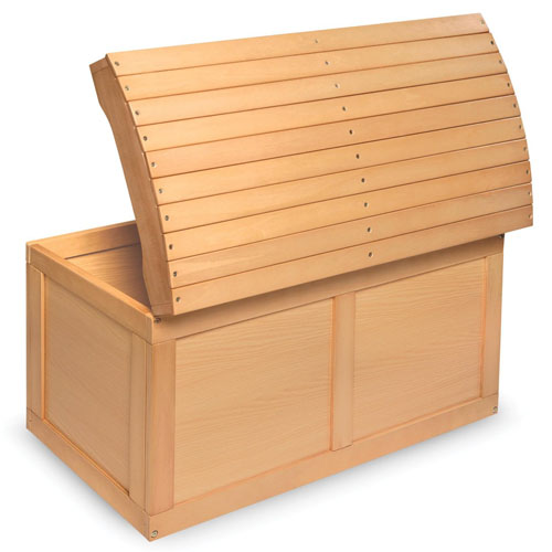 Badger Basket Barrel Top Toy Box Is A Beautiful Blanket Chest to Keep Children Toys