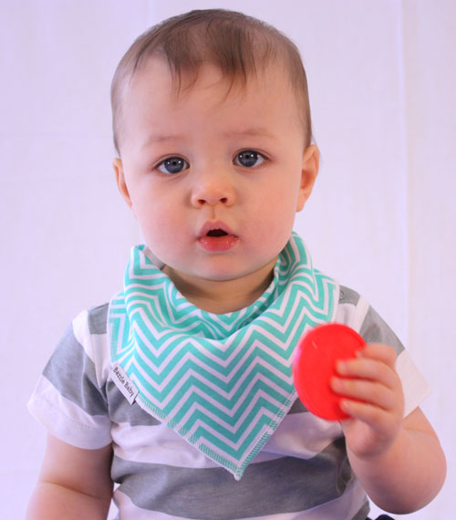 Banda Bib II Collection : Colorful and Cute Bandana Style Drool Bib