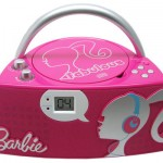 Let Your Girl Dance Around with Pink Barbie Glamtastic Boom Box
