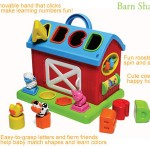 Infantino Barn Shape Sorter - A Fun Playing Tool for Your Baby