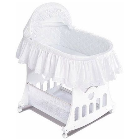 Bassinet-N-Cradle With Toy Box Base Gives Ultimate Usability With Great Aesthetics