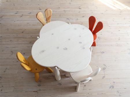 Bunny Chair for Your Kids