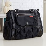 Black Studio Diaper Tote Will Turn Diaper Carrying A Stylish Event