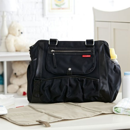 c706cb58c145 Black Studio Diaper Tote Will Turn Diaper Carrying A Stylish Event ...