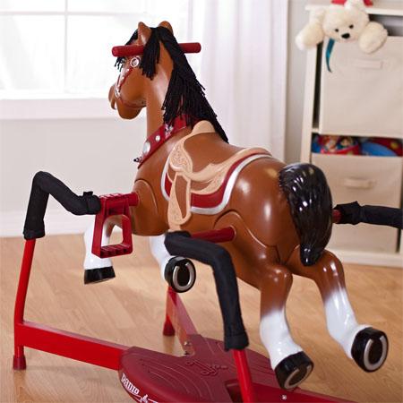blaze interactive rocking horse