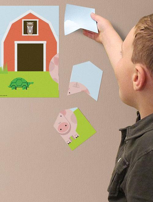 Blik Farm Wall Puzzle - Blik Wall Puzzle