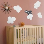 Instant Decoration With Blik Re-Stik Cloud Wall Stickers
