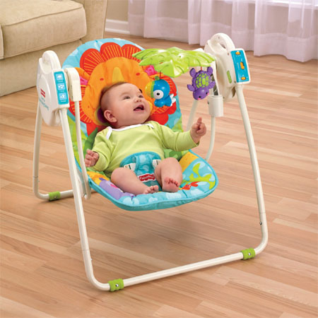 Blue Sky Portable Baby Swing Can Provide Comfort And Safety