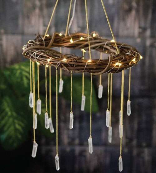 Gorgeous Bohemian Style Nursery Chandelier by Blue Lotus Designs Shop