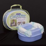 Bonaco Caboose Travel Diaper Potty : Compact Diaper Potty with Carrying Bag