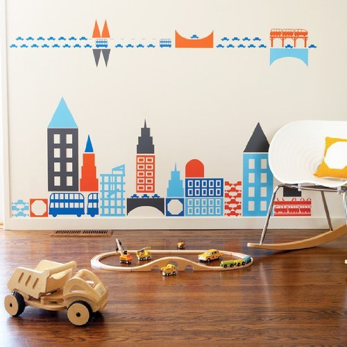 Boodalee City Wall Stickers