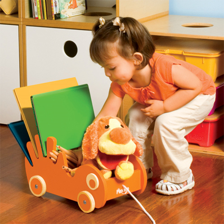 P'Kolino Book Buggee Is Your Kid's Personal Book Organizer