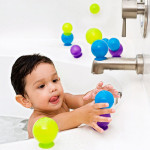 Boon Bubbles Suction Cup Bath Toys : Stack, Link, and Built Unique Structures with These Bubbles