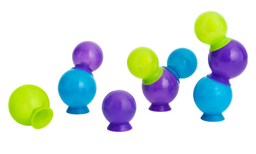 Boon Bubbles Suction Cup Bath Toys