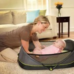Brica Fold and Go Travel Bassinet : Lightweight and Foldable Bassinet