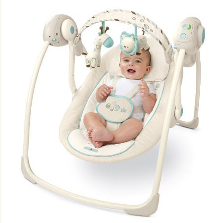 Bright Starts Comfort Amp Harmony Portable Swing With Swing